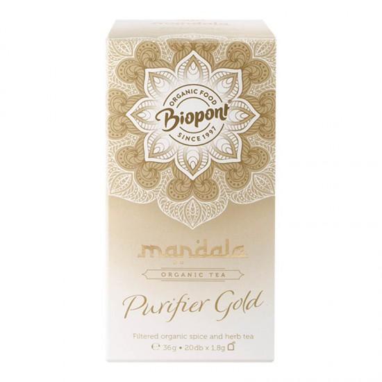 Ceai Mandala, Purifier Gold 36 g