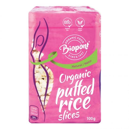 Felii de orez expandat, natur 100 g